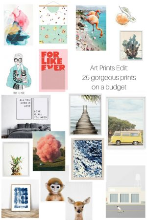Art Edit: 25 Art Prints on a Budget