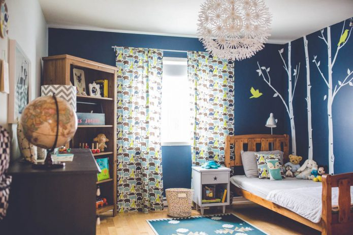 La chambre du petit Isaac