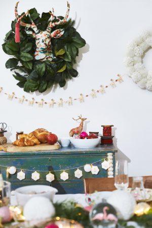 Un brunch de Noël Boho & Ludique avec Command
