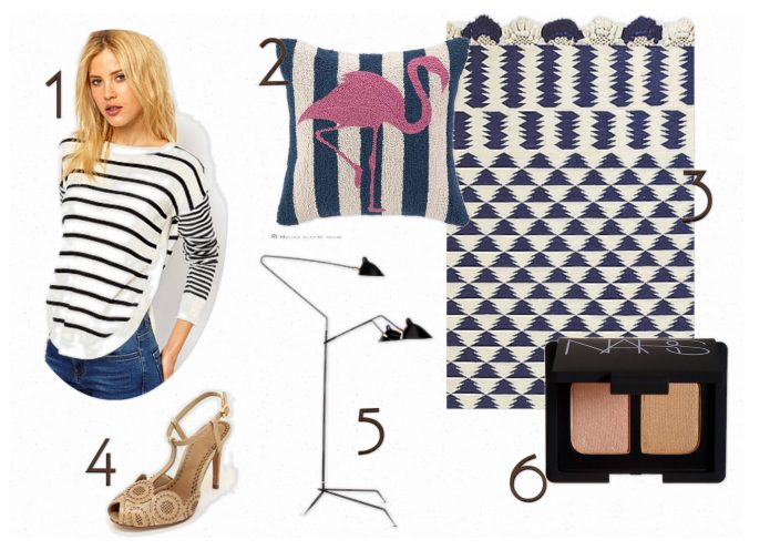 Damask et Dentelle coveted list nautical look