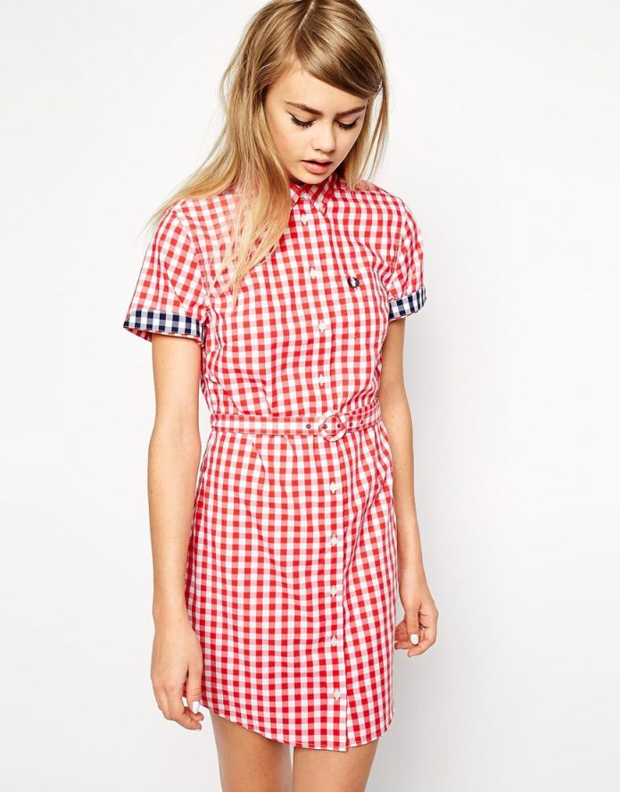 Fred Perry Gingham dress