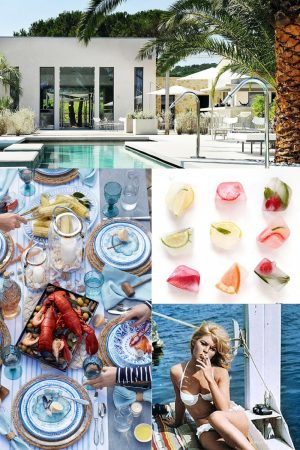 Spotted on the Web: French Riviera Style for Summer