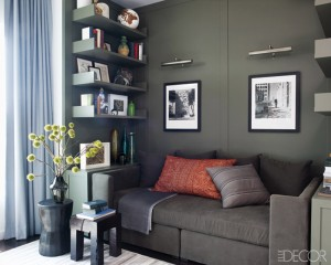 Hilary Swank' Apartment via Elle Decor