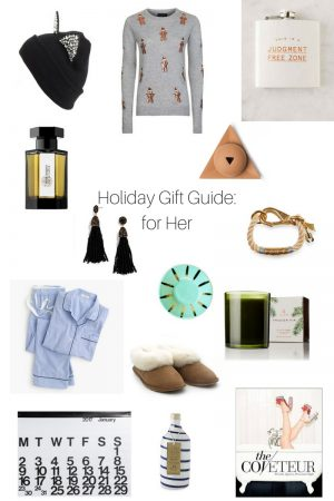 Holiday Gift Guide: 20 ideas for Her