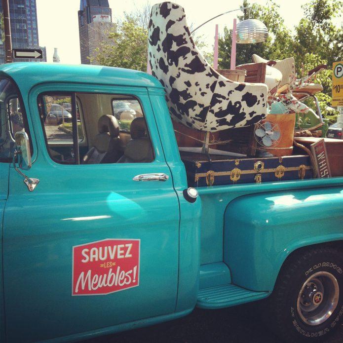 Publicité sauvez les meubles été 2012