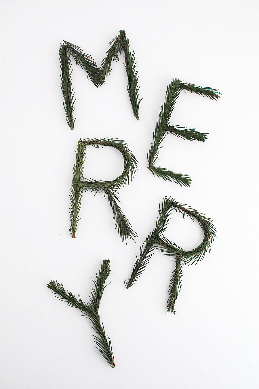 merry-pine-letters