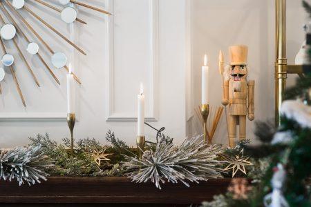 Home Tour: My Christmas Living Room
