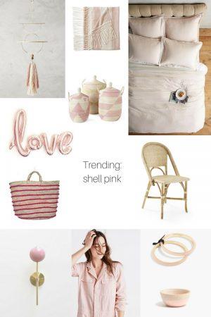 Trending: Shell Pink