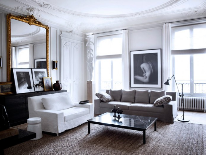 Malsherbes in paris is where the grand gallery style apartment