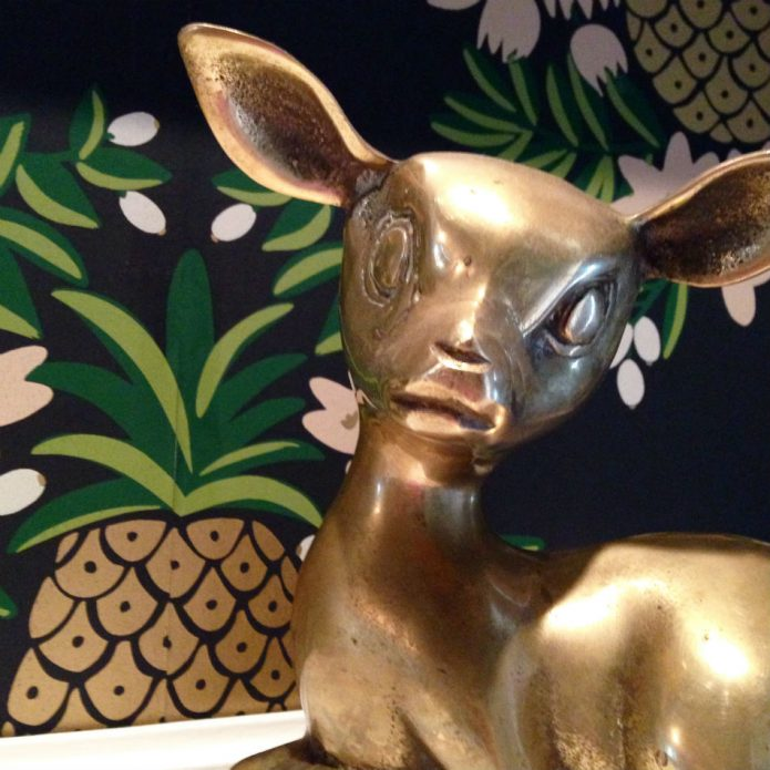 brass bambi_hygge and west wallpaper