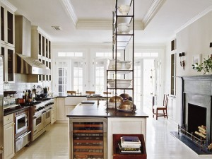 Darryl Carter's Kitchen via Elle Decor