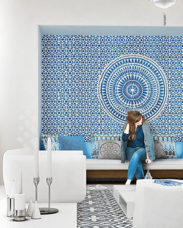 moroccan tile work