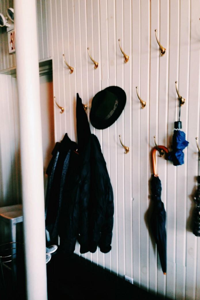 restaurant communion_coat rack