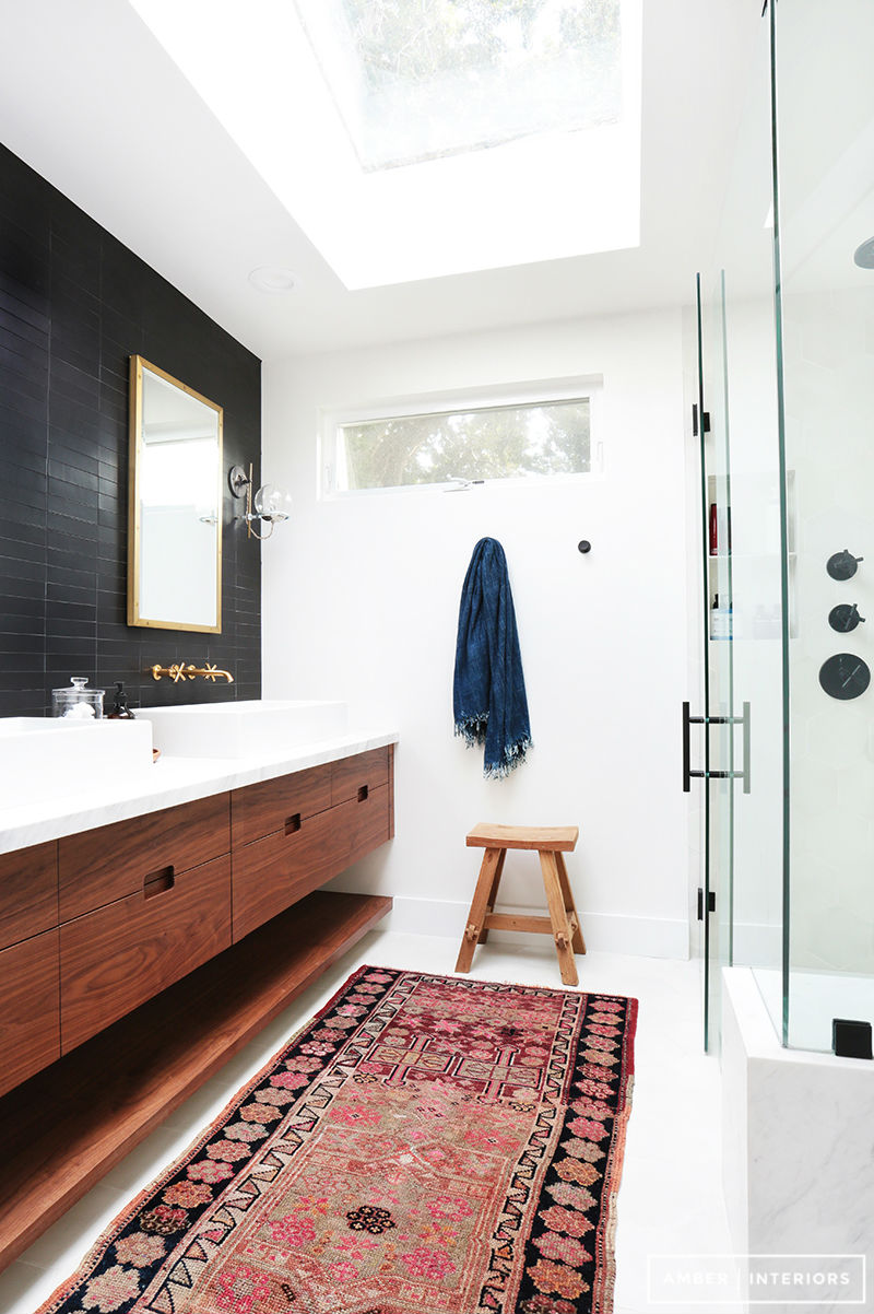 salle de bain 5 tendances. Black Bedroom Furniture Sets. Home Design Ideas