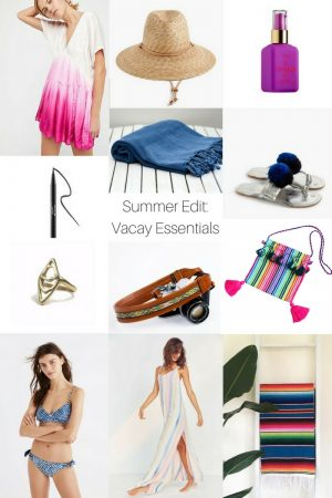 Summer Edit: Vacation Essentials