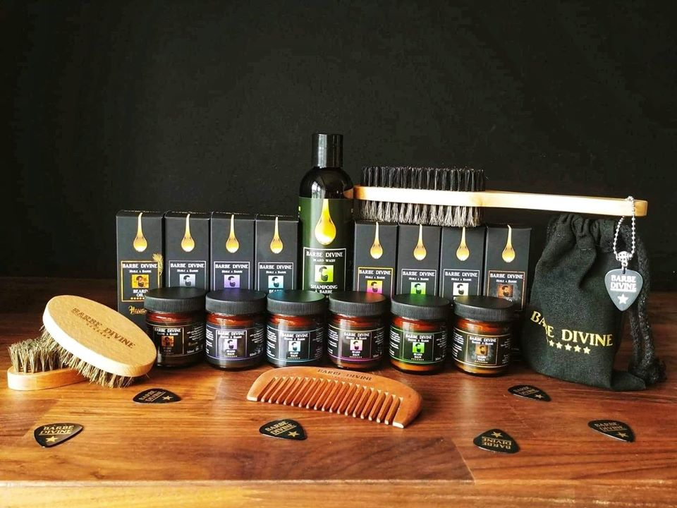 Barbe Divine, etsy, barbe, homme, achat local
