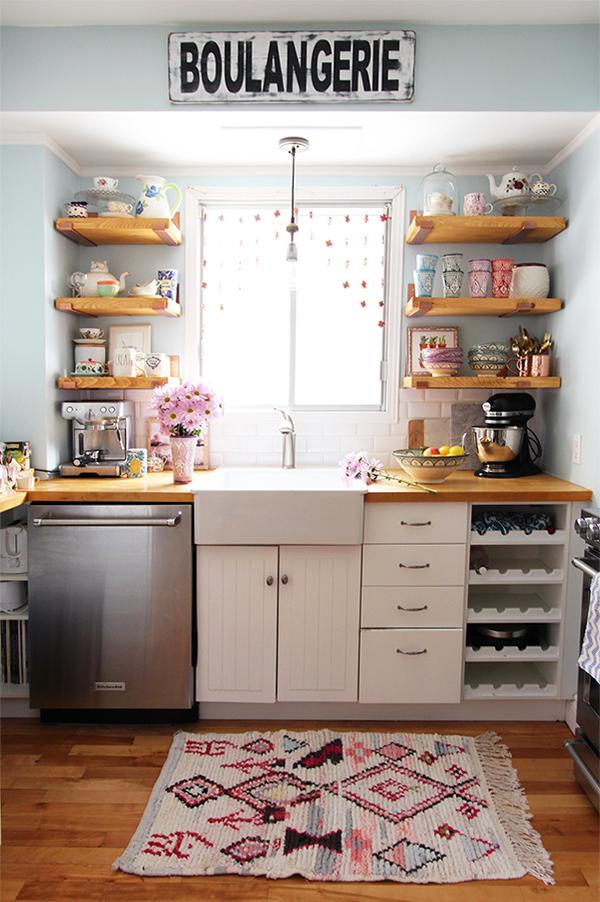 kitchen, carpette, tapis, deco, decor