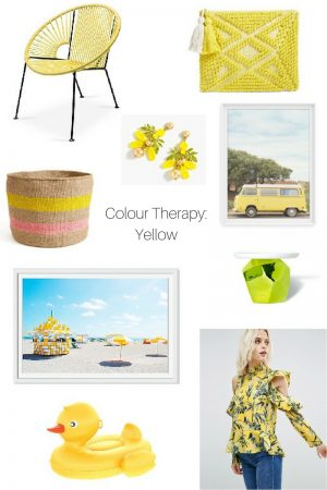 Colour Therapy: Yellow