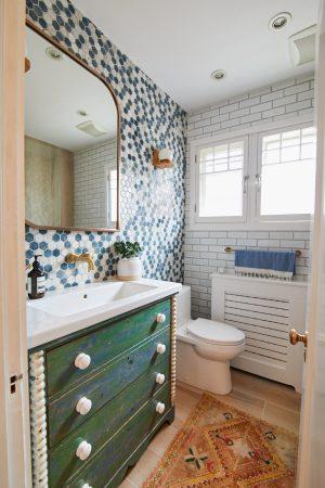Ma salle de bain sort des années '50: le dévoilement