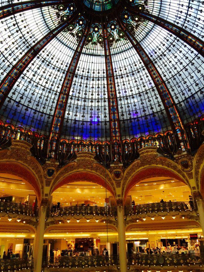 Les_galeries_lafayette_paris