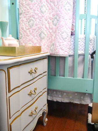 Chambre de Bébé vert menthe