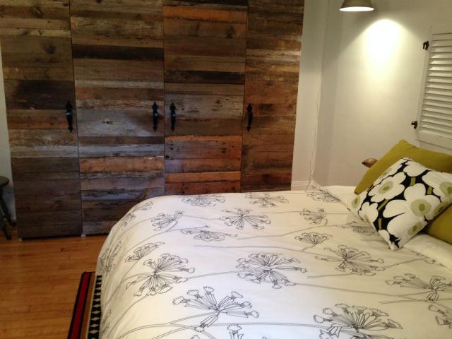 barn wood curtom made wardrobe