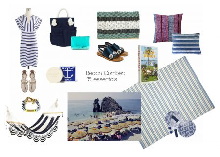 Beach Comber: 15 essentials