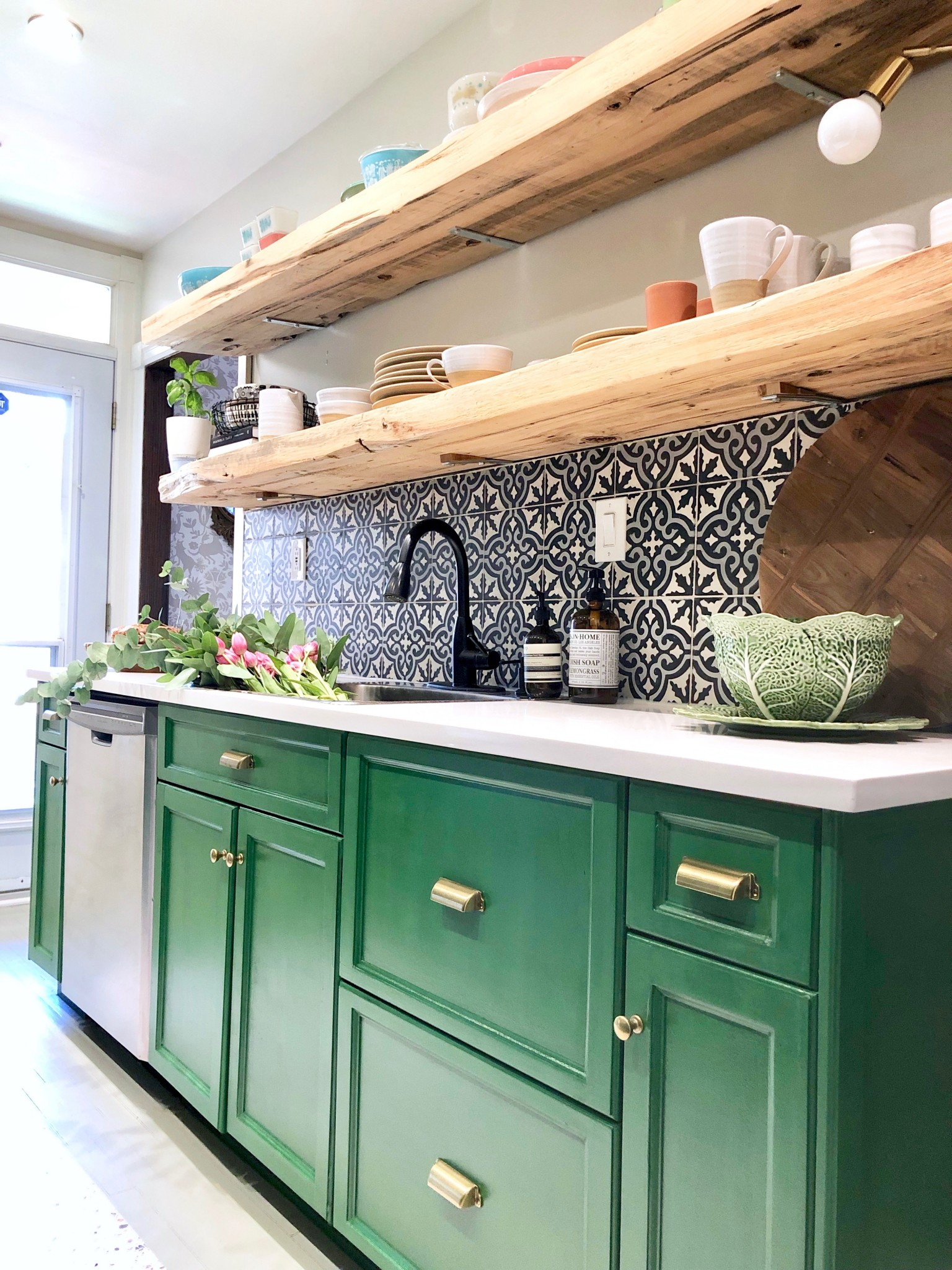 My Kitchen Makeover With The Behr Chalk Decorative Paint