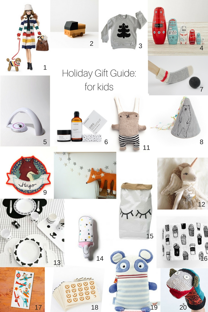 Holiday gift guide for the kids interior design ideas for Christmas gifts for interior designers