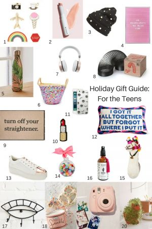Holiday Gift Guide: 20 ideas for the Teen Girls