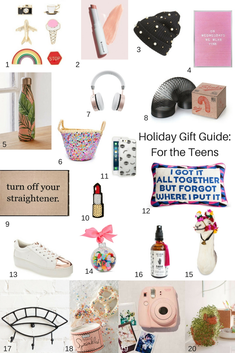 Holiday Gift Guide 20 Ideas For The Teen Girls Interior