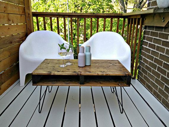 etsy, industriel, meuble extérieur, terrasse, local