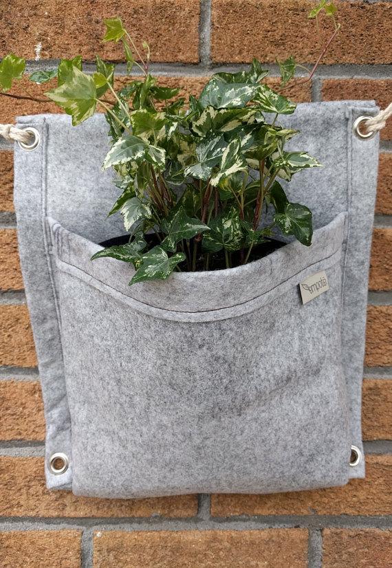 Empoté, plante, jardinière, etsy, terrasse, extérieur