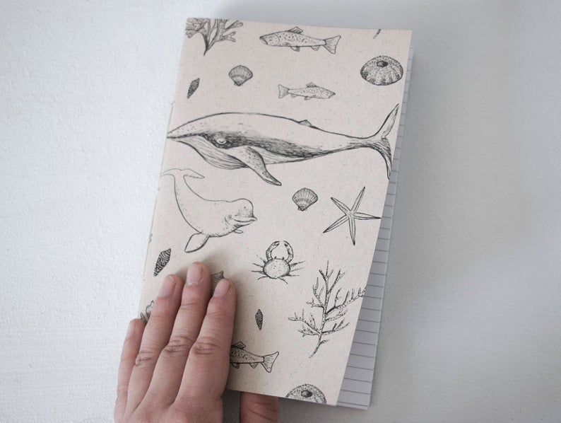 cahier de notes, cahier, carnet, local, etsy