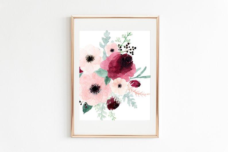 Marie-Pier Lafresnaye, fleurs, anémones, roses
