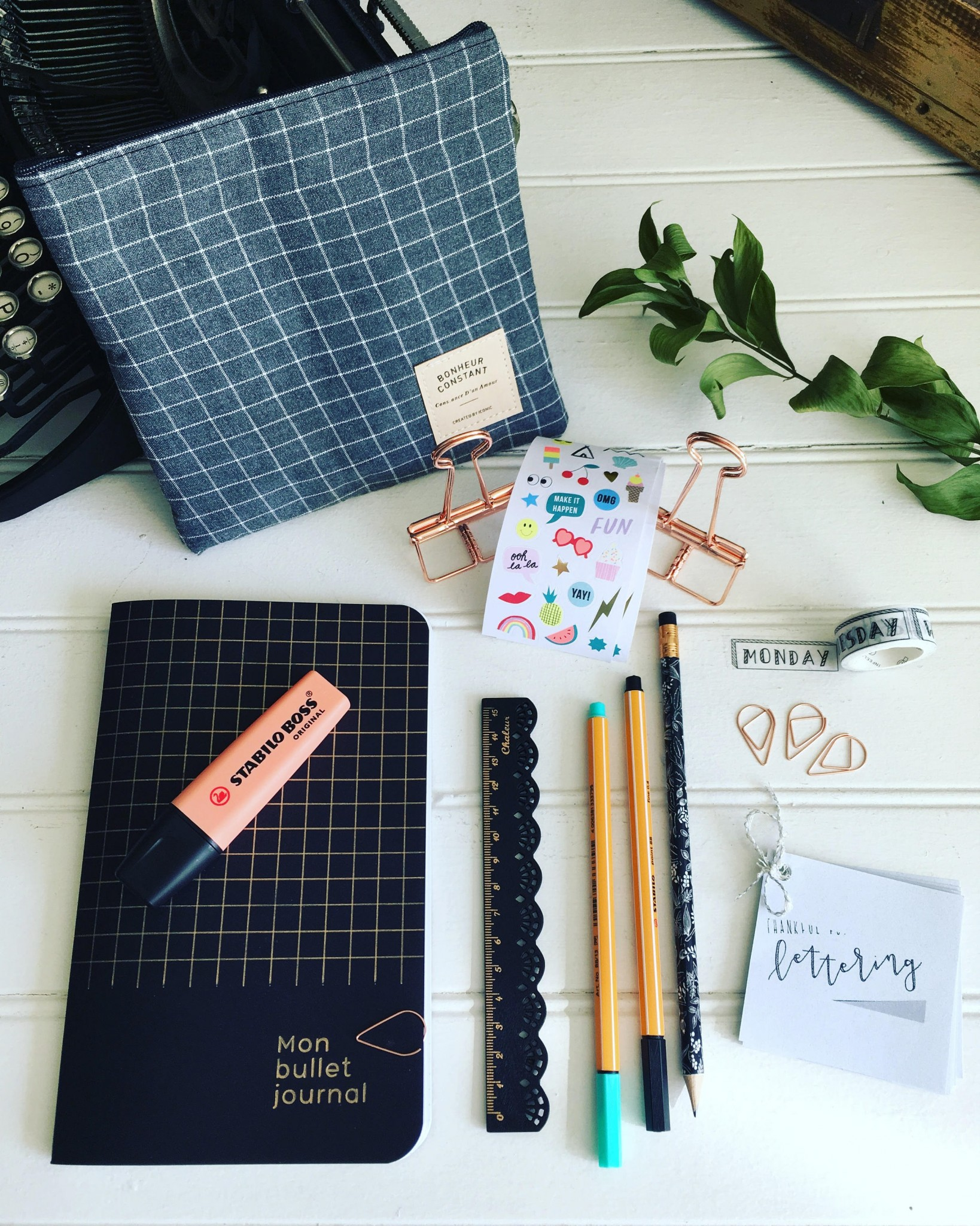 achat local, etsy, bullet journal