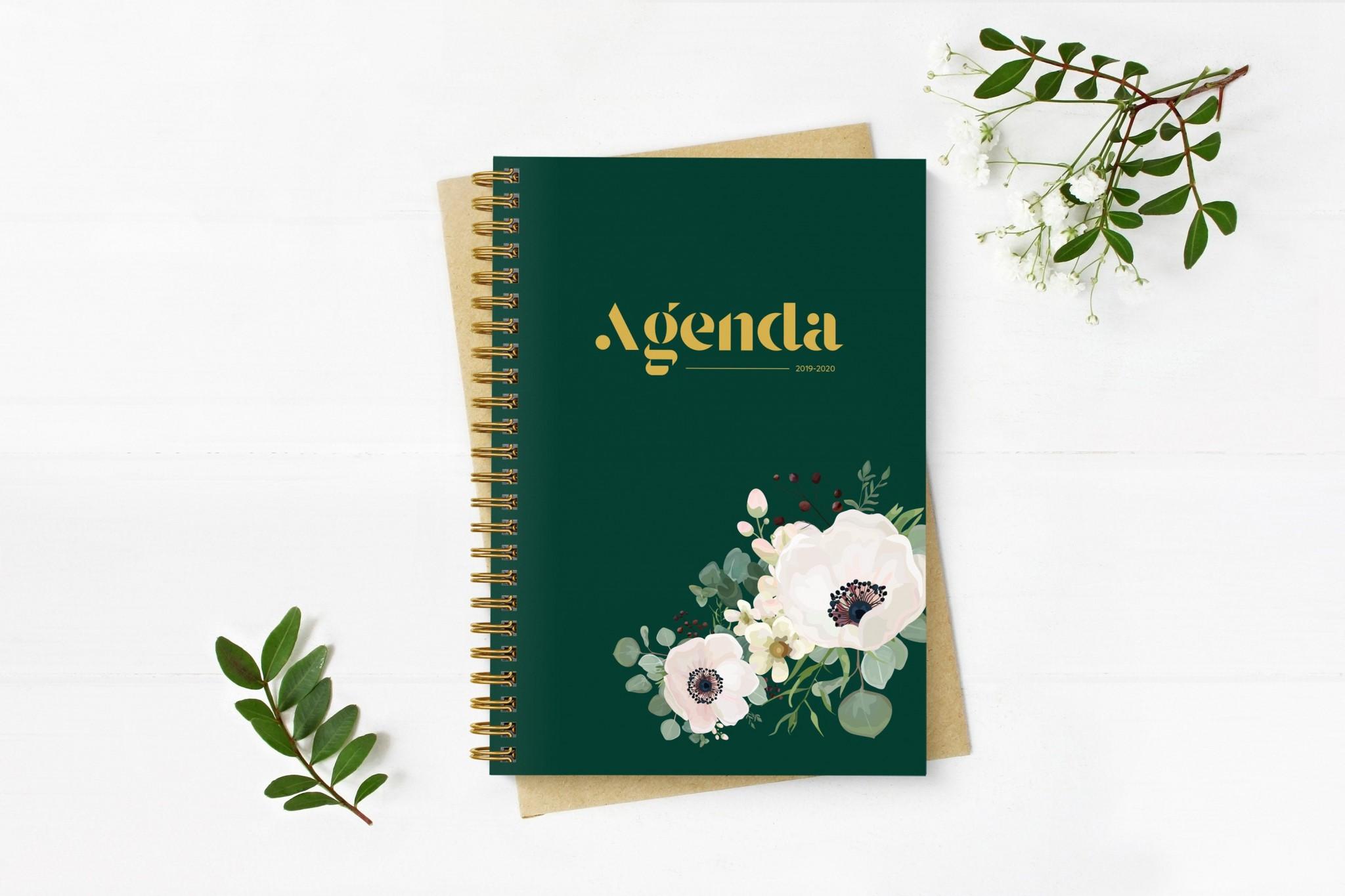 agenda, agenda scolaire, rentrée, etsy