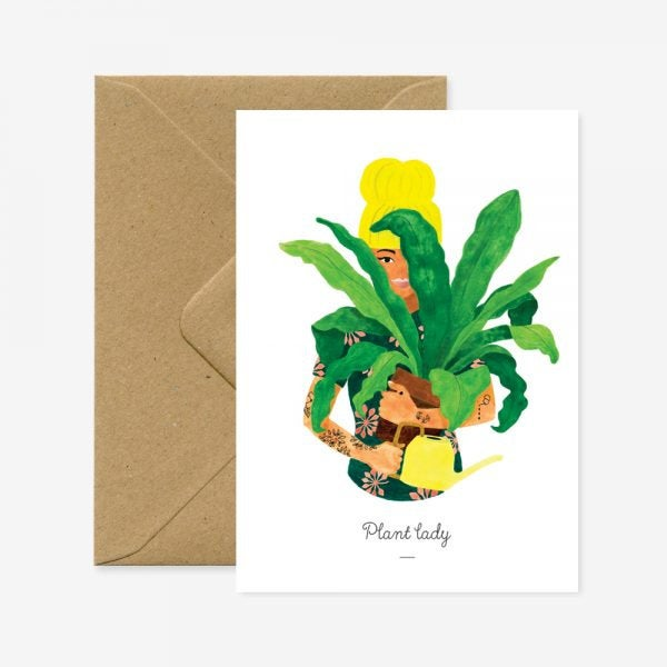 All the ways, papeterie, etsy, plantes, plant lady, france