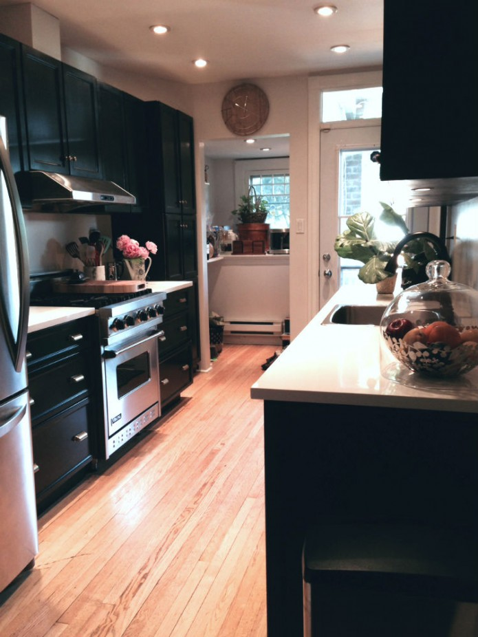 kitchen renovation after - part 1