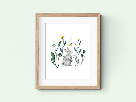 marie-lise, lapin, bunny, illustration, etsy