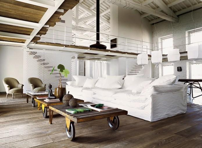 massive living room