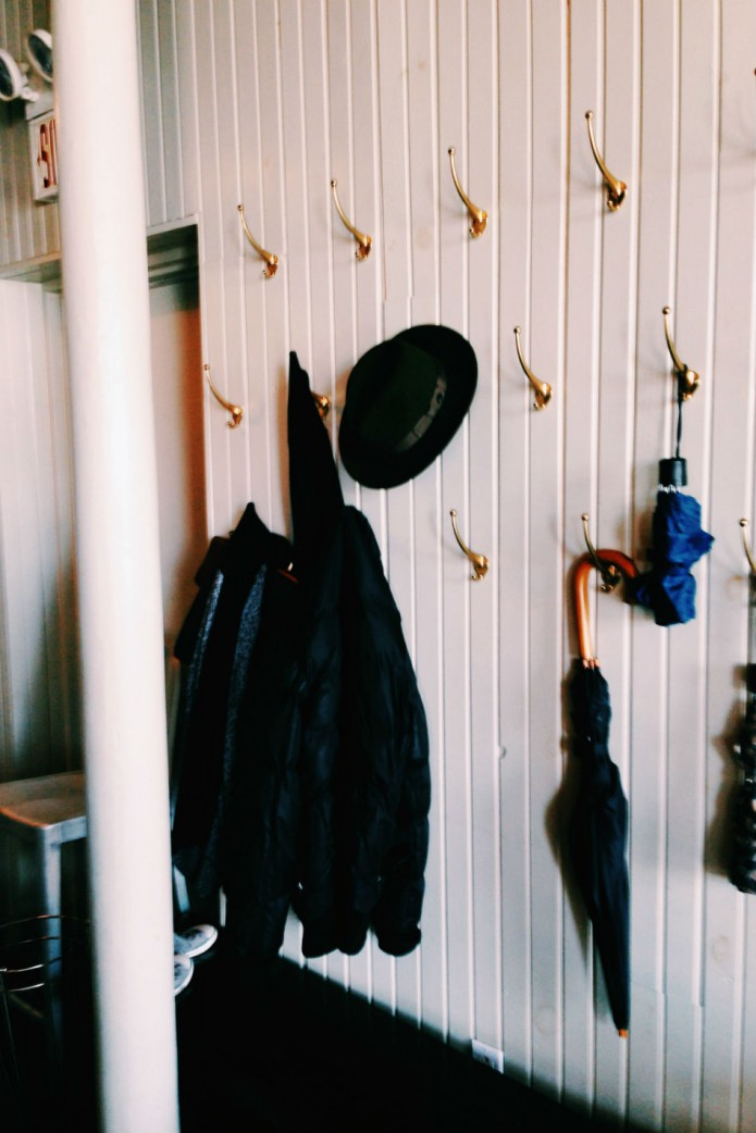 restaurant communion_coat rack