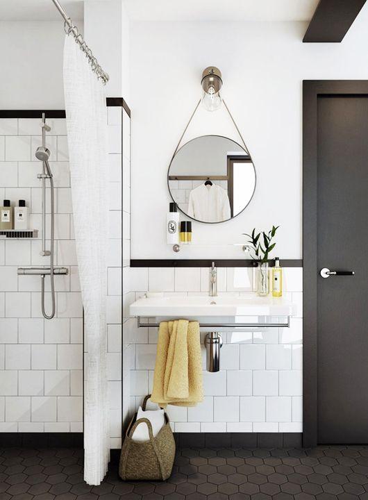 salle de bain en blanc et noir-2