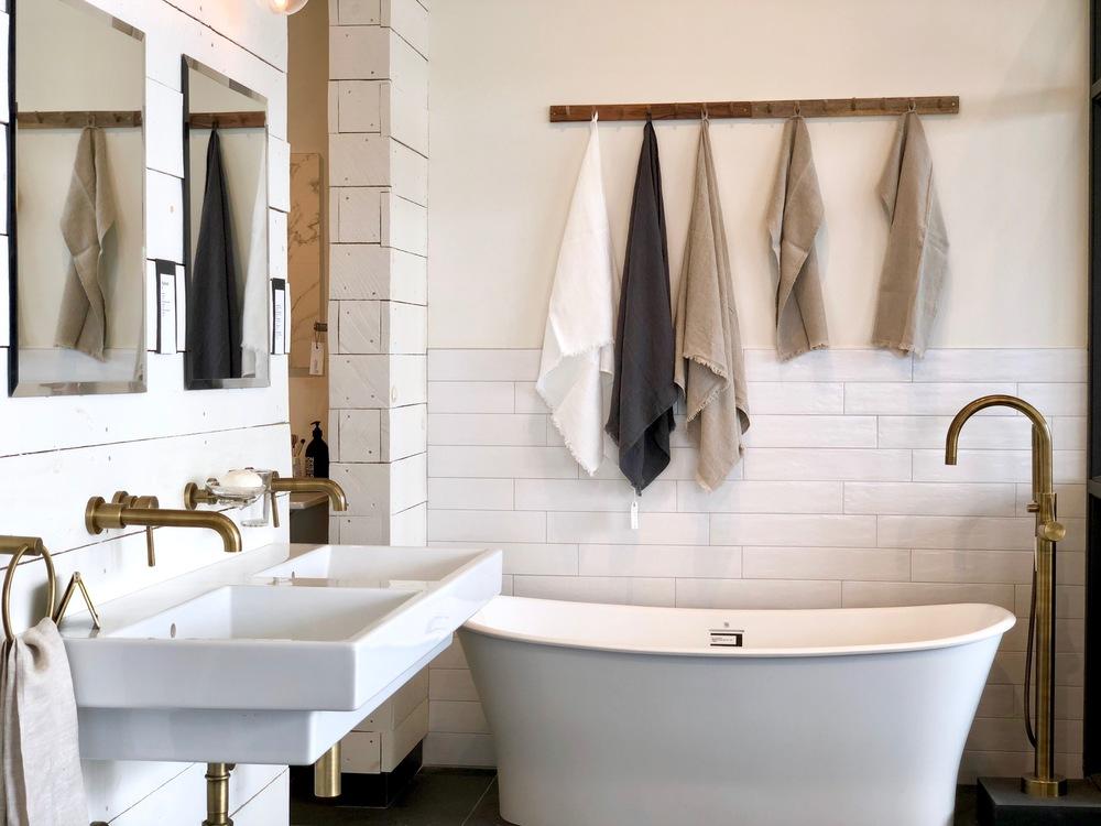 Ma salle de bain sort des années \'50: l\'inspiration