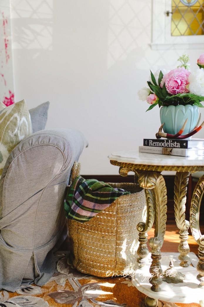 A Tea With My Living Room Blog De Damask Et Dentelle